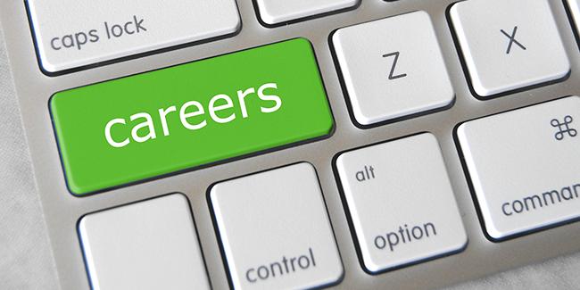Careers keyboard image